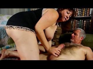 big tits  chubby  cum