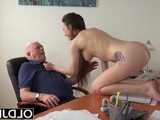 blowjob  college  grandpa