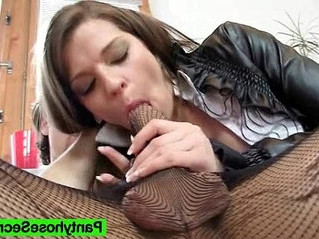 brunette  pantyhose  sex