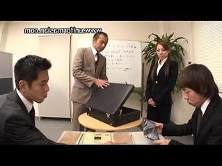 asian  office  pantyhose