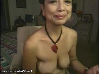 asian  gilf  masturbation