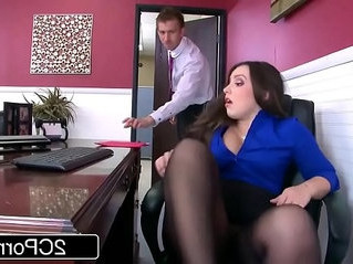 ass   cock   office