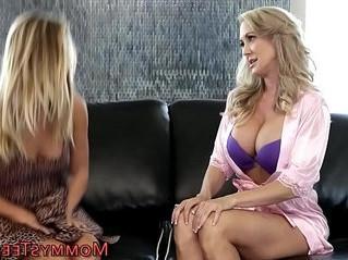 blonde  lesbian  older woman